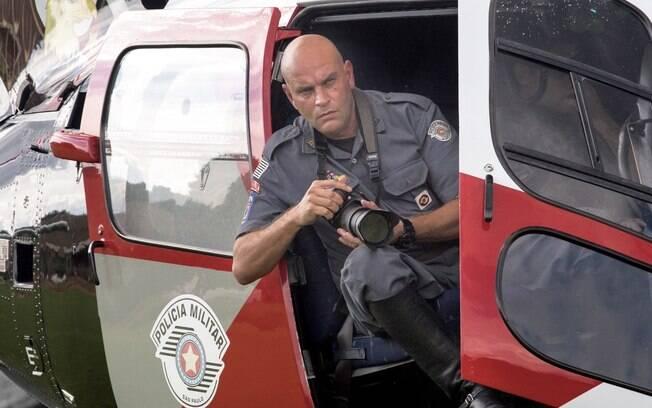 Major PM Luis Augusto Pacheco Ambar, autor das fotografias do livro