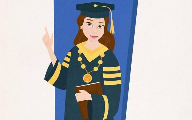 Bela seguiu a carreira acadêmica e virou reitora de uma universidade