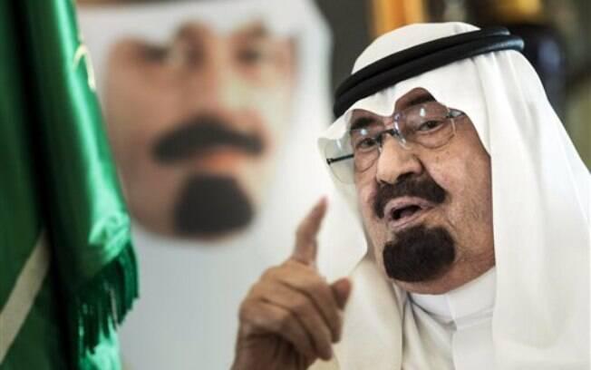 O rei Abdullah, da Arábia Saudita: ele foi o mais importante aliado dos EUA no mundo árabe