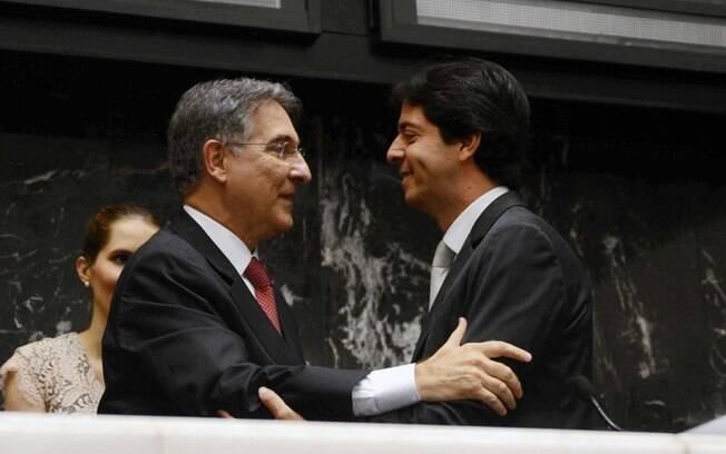 Fernando Pimentel foi empossado nesta quinta-feira (01) em cerimônia na Assembleia Legislativa de Minas Gerais