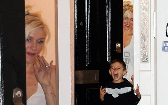 Angelina Jolie e Gwen Stefani se encontraram para a alegria dos filhos