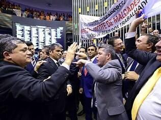 Pressão em plenário comandados por Paulinho da Força garantiram derrota apertada do governo