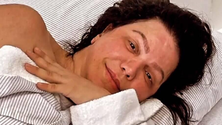 Simone Poncio no hospital