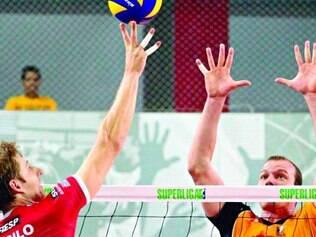 Equilíbrio. Em jogo disputado,  Sesi-SP abriu vantagem sobre o São Bernardo nos play-offs