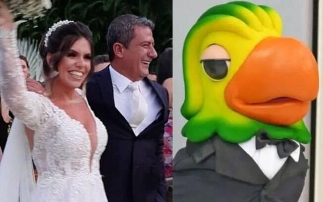 Tom Veiga, que interpreta o Louro José, termina casamento de nove meses