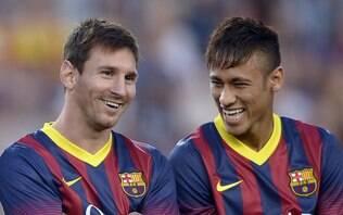 """Sonhando com volta ao Barça, Neymar exalta Messi: """"Fazíamos uma dupla genial"""""""