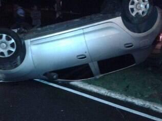 Motorista do veículo não ficou ferido
