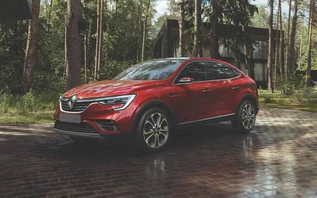 Renault Arkana conceitual será praticamente igual ao modelo que será produzido em série em 2021