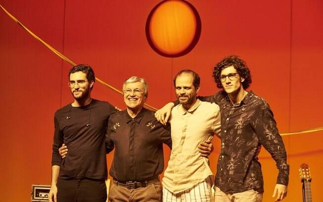 Caetano Veloso se apresentará com os filhos no João Rock 2018