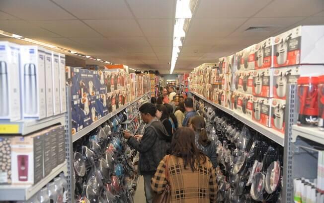 Na loja matriz foram 26 trabalhadores temporários contratados no início de setembro