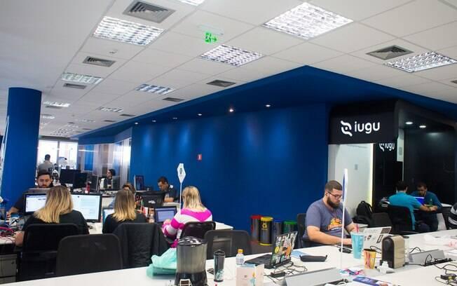 Das 600 pessoas que circulam pelo Cubo diariamente, cerca de 250 fazem parte das startups residentes