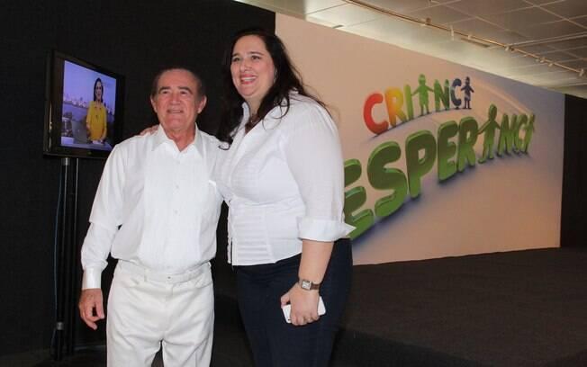 Renato Aragão com a mulher, Lilian