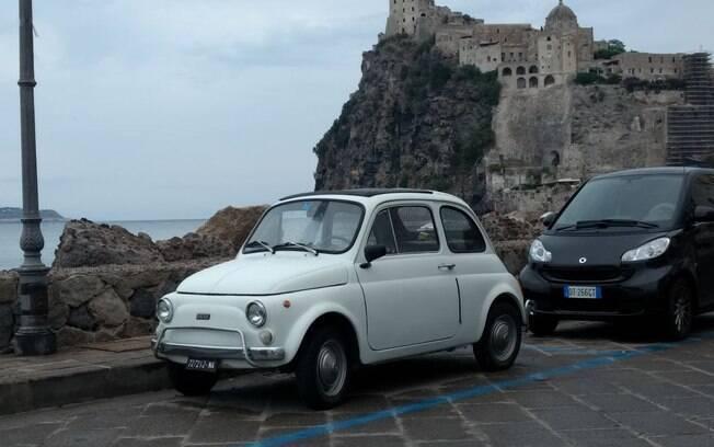 Para utilização no trânsito urbano, o Fiat 500 é uma boa opção de veículo subcompacto convertido