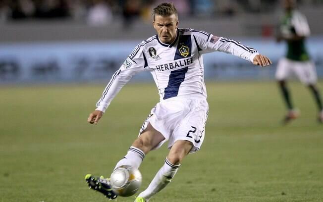 Mesmo com um salário milionário, o inglês  David Beckham foi um sonho de consumo do São  Paulo