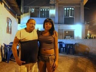 José Gabriel de Souza e a filha, Gabriela
