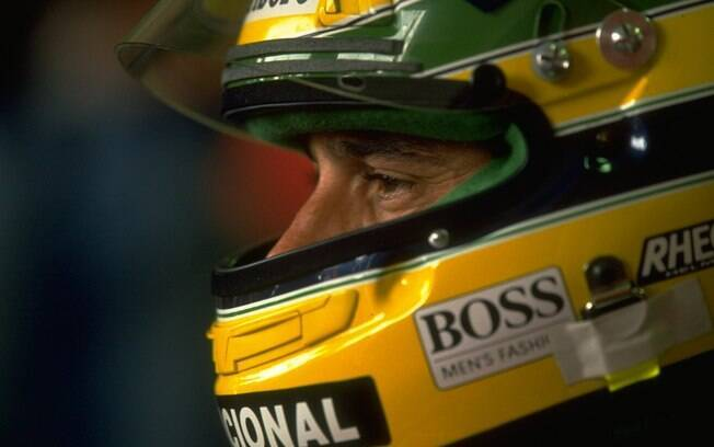 Ayrton Senna durante a temporada 1991. Foto: Getty Images