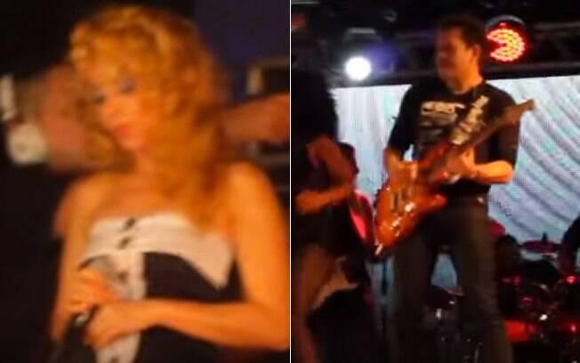 Imagens do show da banda Calypso em Teresina (3/10/2015). Foto: Reprodução