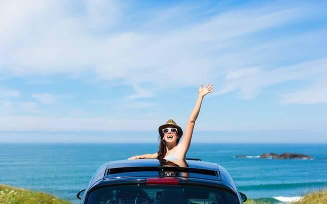 Viajar sozinha é uma experiência única, onde a mulher pode vivenciar momentos únicos