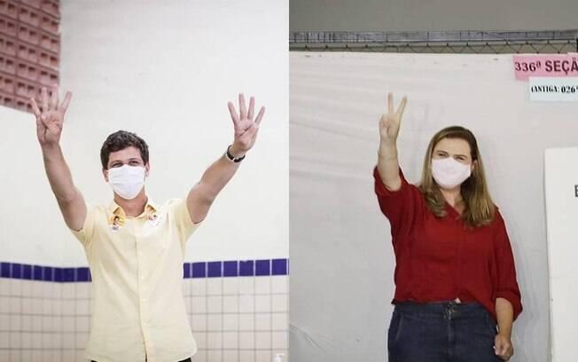 No Recife, disputa pelo segundo turno será entre primos: João Campos e Marília Arraes