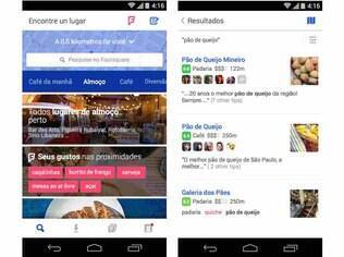 Nova versão do Foursquare, gratuita e já disponível no Android e no iOS, busca lugares para o usuário baseado nas suas preferências