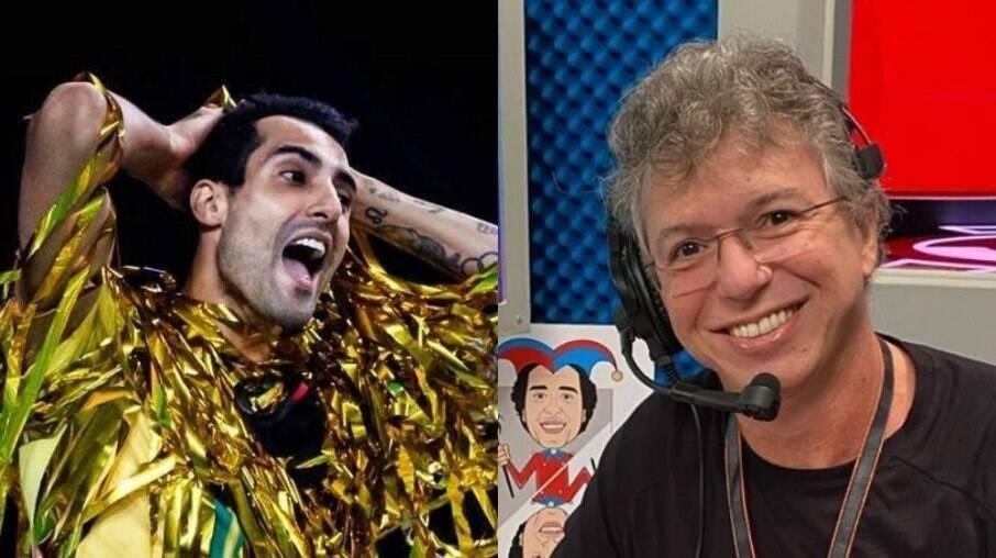 Douglas Souza e Boninho