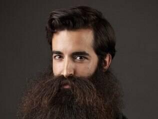 Americano Madison Rowley foi eleito o homem com a melhor barba do mundo.