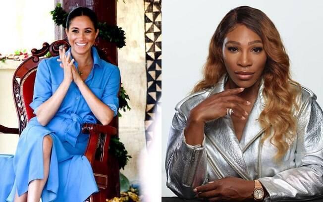 Meghan Markle vai para Nova York prestigiar Serena Williams