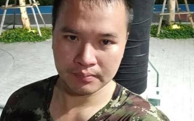 atirador tailândia soldado militar