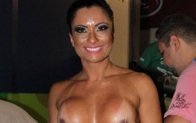 Dani Sperle é conhecida como a musa do tapa-sexo. Foto: AgNews