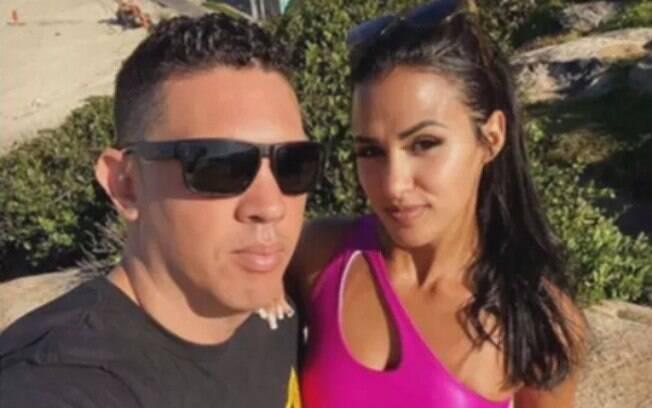 Gilton e Thayane eram vistos como um casal feliz nas redes sociais