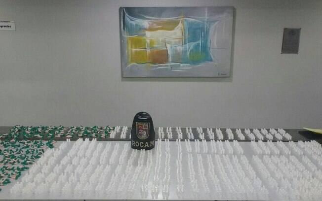Rocam apreende grande quantidade de drogas em São Paulo