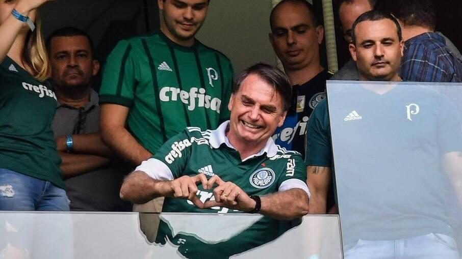 Bolsonaro declarou sua torcida para time mineiro