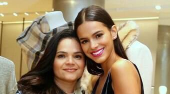 Mãe de Bruna Marquezine lamenta que filha tenha deixado a Globo