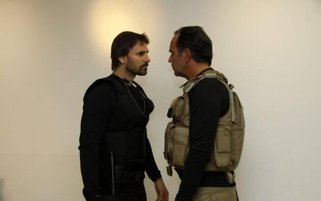 Humberto Martins e Murilo Rosa participam de workshop de filme policial no Rio de Janeiro