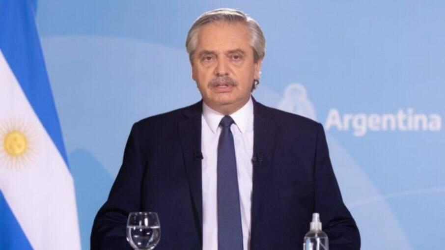 Alberto Fernández, presidente da Argentina
