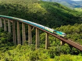 Trem da Vale liga Vitória a Belo Horizonte