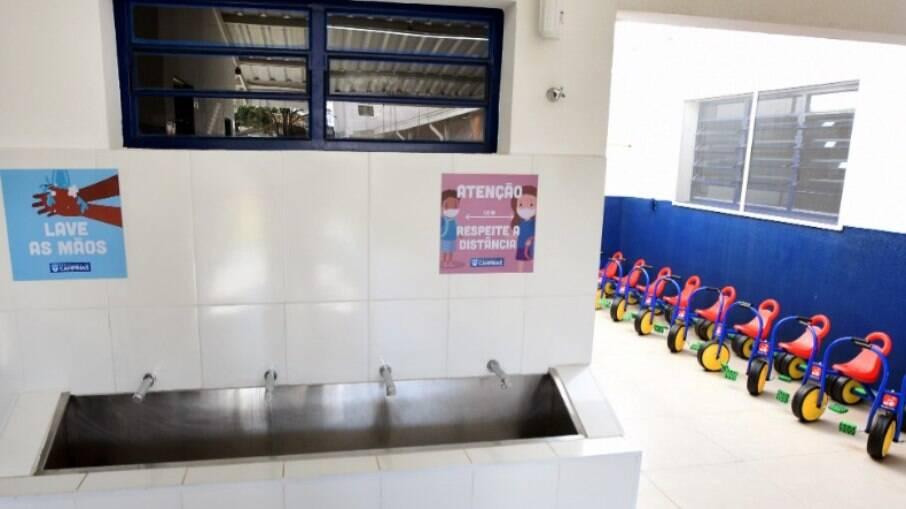 Creches da rede municipal de Campinas retomaram atividades presenciais.