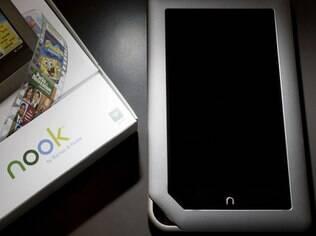 Nook não conseguiu competir com o Kindle, da Amazon