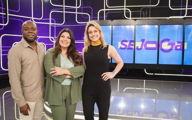 Érico Brás Fabiana Karla e Fernanda Gentil vão apresentar o programa