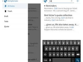 Gratuito para Android, iOS, Kindle, Mac e com versão web, o Simplenote é um aplicativo de anotações fácil de usar que publica as notas para facilitar o compartilhamento
