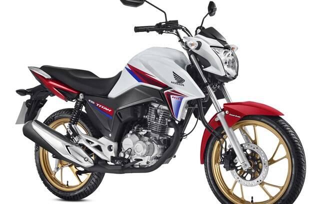 Honda CG, edição limitada de 40 anos