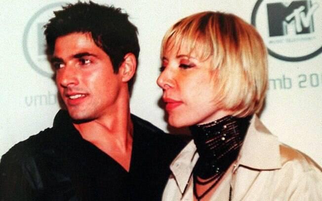 Marília Gabriela com Reynaldo Gianecchini