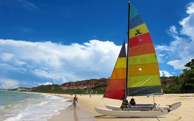 Arraial d'Ajuda é destino concorrido no Sul da Bahia