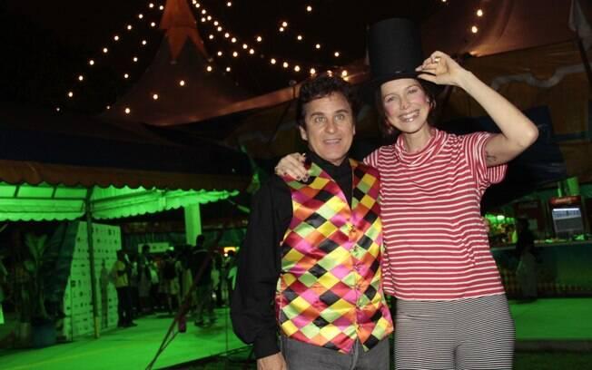 Luana Piovani e Marcos Frota