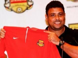 Ronaldo se tornou sócio do norte-americano Lauderdale Strikers