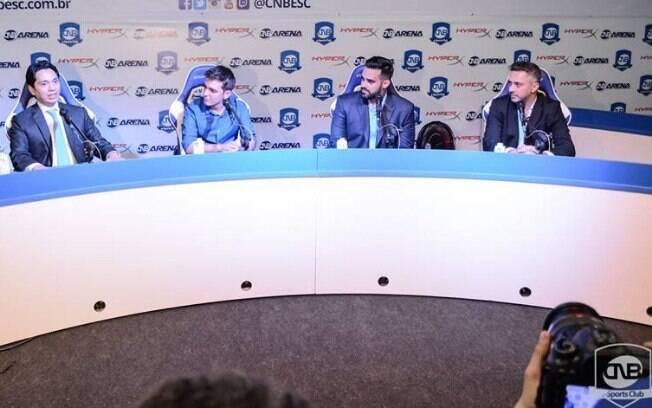 Sócios da CNB e patrocinadores da HydraX discutem o cenário dos eSports no Brasil