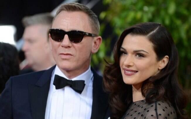 Daniel Craig e Rachel Weisz começaram a namorar em 2010, depois de viverem um par romântico no filme