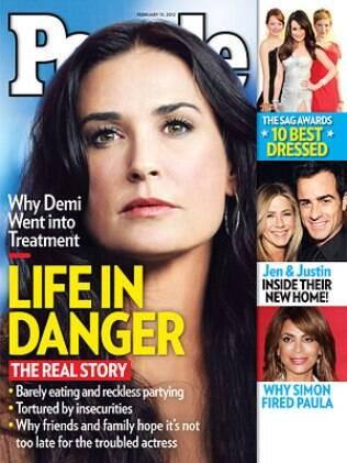 Demi Moore: vida em perigo