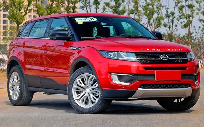 Parece o Range Rover Evoque, mas é só o Landwind X7