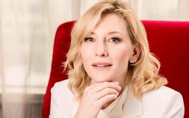 Celebridades com 50 anos em 2019! Atriz Cate Blanchett